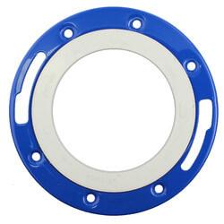 "4"" PVC DWV Closet Flange w/ Adjustable Ring"
