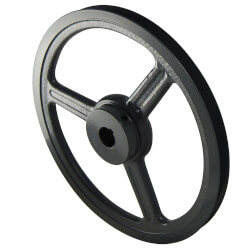 """Stock AL & AM Pulleys for 4L or A Belts (7.93"""" OD) Product Image"""