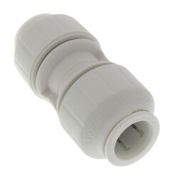 "PSEI0416 3/8"" CTS Twist & Lock Speedfit Coupler Product Image"