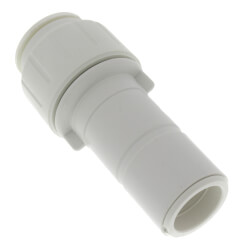 "1"" Stem x 3/4"" Pipe Twist & Lock Speedfit Reducer Product Image"
