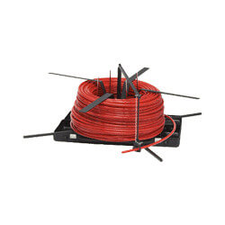 PEX Tubing Uncoiler In Case