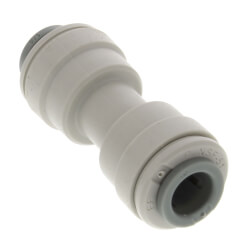 "1/4"" Tube OD Gray Acetal Union Connector Product Image"