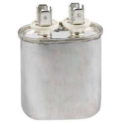 370V Oval Dual Run Capacitor (2 MFD) Product Image