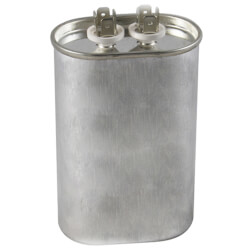 370V Oval Dual Run Capacitor (55 MFD) Product Image