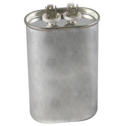 370V Oval Dual Run Capacitor (80 MFD) Product Image