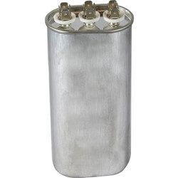 370V Oval Dual Run Capacitor (60/5 MFD) Product Image