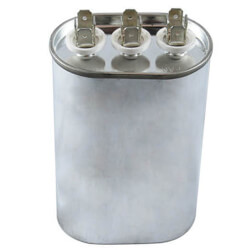 440V Oval Dual Run Capacitor (60/5 MFD) Product Image