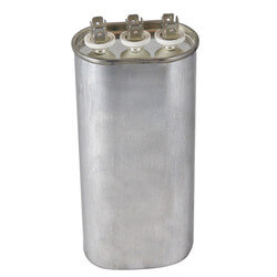 440V Oval Motor Run Capacitor (50+5 MFD) Product Image