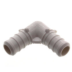 "1/2"" PolyAlloy PEX <br>Crimp Elbow Product Image"