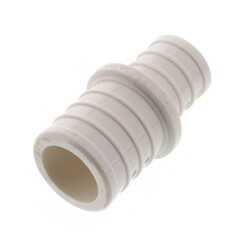 "1"" x 3/4"" PolyAlloy PEX Crimp Coupling Product Image"