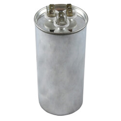 370V Round Dual Run Capacitor (80/10 MFD) Product Image