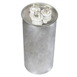 440V Round Dual Run Capacitor (80/5 MFD) Product Image