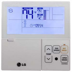 Multi-V Wired<br>7-Day Programmable Thermostat Product Image