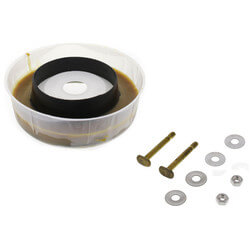 PRO Series Bowl Wax Gasket Kit w/ Flange & Bolts Product Image