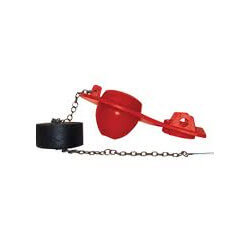 Universal Fit Flapper with Adjustable Float (Red) Product Image