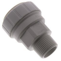 """1"""" CTS x 3/4"""" NPT Speedfit Secure Male Connector Product Image"""