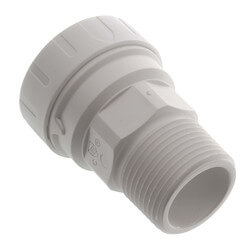 """1"""" CTS x 1"""" NPT Speedfit Secure Male Connector Product Image"""