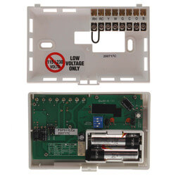 Programmable Thermostat (1 Stage Heat / 1 Stage Cool), 5/2 Programming