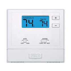 PTAC Wired Digital <br>Wall Thermostat Product Image