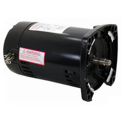 48Y 3-Phase Sq. Flange Pump Motor (208-230/460V, 3450 RPM, 1/2 HP) Product Image