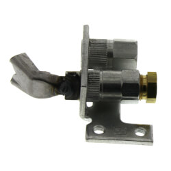 Pilot Burner for Natural Gas w/ a BCR-18 Orifice (left single tip style) Product Image