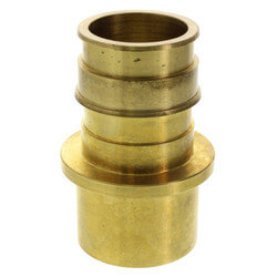 "ProPEX LF Brass Fitting Adapter, 2"" PEX x 2"" Copper"