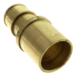 "5/8"" ProPEX x 3/4"" Copper Fitting Adapter (Lead Free Brass)"
