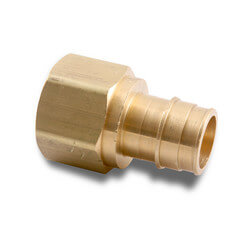 "1-1/4"" ProPEX x 1-1/4"" NPT Lead Free Brass Female Adapter"