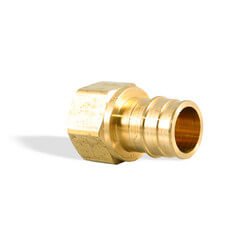 "ProPEX Brass Female Threaded Adapter, 1"" PEX x 3/4"" NPT"