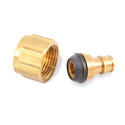 "1/2"" PEX x 1/2"" NPSM - ProPEX Brass Swivel Adapter"