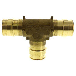 """2"""" ProPEX Brass Tee Product Image"""