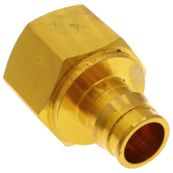 """3/4"""" ProPEX x 1"""" NPT Brass Female Adapter Product Image"""
