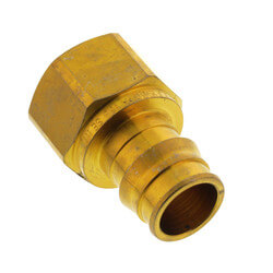"""3/4"""" ProPEX x 3/4"""" NPT Brass Female Adapter Product Image"""