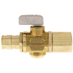 "5/8"" ProPEX x 3/4"" Copper Adapter Ball Valve"