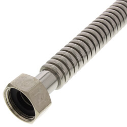 "3/4"" x 1"" Flexible Water Heater Connector<br>(24"" Length) Product Image"