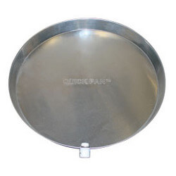 """20"""" Aluminum Water Heater Pan with<br>CPVC Drain Fitting Product Image"""