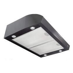 """30"""" Black Under Cabinet Range Hood (100/350 CFM) Product Image"""
