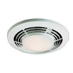"QT9093WH Heater, Fan,<br>& Light Combo - 4"" Round Duct (110 CFM) Product Image"