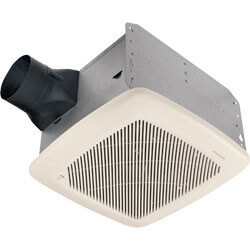 "QTRE100S Humidity Sensing Vent Fan, 4"" Duct (100 CFM) Product Image"