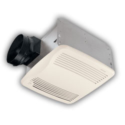 "QTXE110S Humidity Sensing Vent Fan, 6"" Duct (110 CFM) Product Image"