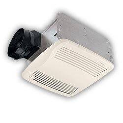 """QTXEN110S Humidity Sensing Vent Fan, 6"""" Duct (110 CFM) Product Image"""