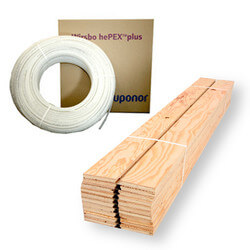 Quik Trak Radiant Heat Package - 250 sq ft