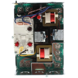 Combo Protector Relay and Hydronic Heating Control w/ High limit: 10F fixed, low limit/circulator, Horizontal Mount (10F to 25F)