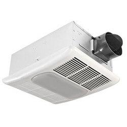 RAD80L BreezRadiance Series, 1 Speed Bath Fan & Heater w/ Light (80 CFM) Product Image