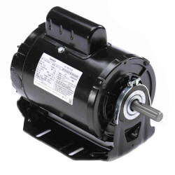 """6-1/2"""" 3-Phase ODP Resilient Motor (208-230/460V, 1725 RPM, 1 HP) Product Image"""