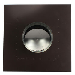 """RC10P Roof Cap, Black Painted Steel, 10"""" Duct Product Image"""