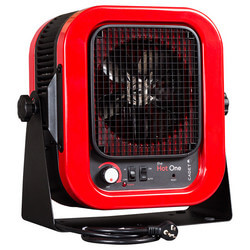 The Hot One Garage & Shop Heater, Red<br>(240V - 4000W) Product Image