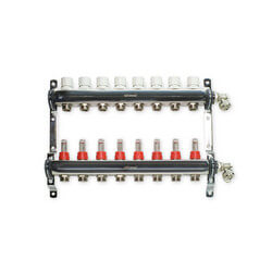 "8 Loop Stainless Steel Manifold Package (1/2"" PEX-AL-PEX)"