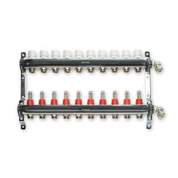 "10 Loop Stainless Steel Manifold Package (1/2"" PEX-AL-PEX)"