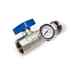 Replacement Ball Valve for Rifeng Manifolds (Blue)